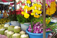 Thai flowers and fruit