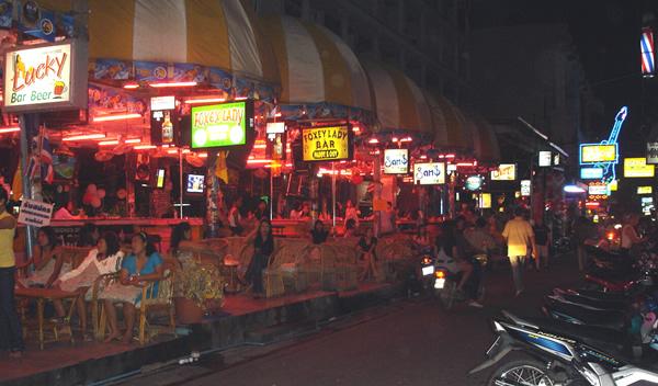 Soi 8 Beach Road Pattaya Pattaya At Night Night Life